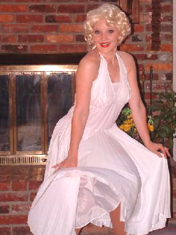 marilyn monroe celebrity impersonation service professional singer singing telegram nashville tn southern kentucky middle tennessee