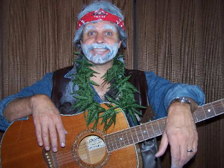 singing telegram willie nelson costume middle tn southern ky